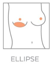 Pavette Ellipse borstshaper